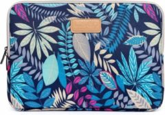 Lunso Lisen - sleeve hoes 15 inch - Tropical blauw