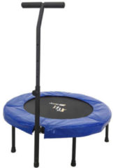 Blauwe Orange Moovz Orange Moves Jump Up Deluxe trampoline fitness + handlebar
