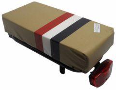 Hooodie Big Cushie PTT - zacht en authentiek, dik fietskussen voor op bagagedrager