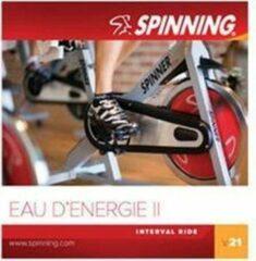Zwarte Spinning® CD Volume 21 Eau d'Energie II