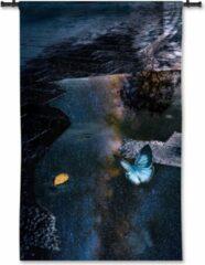 53 Graden Noord Wandkleed Vlinder - 90 x 125 cm