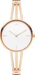 Roze Danish Design watches edelstalen dameshorloge Jackie Rosegold IV67Q1252