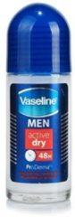 Vaseline Deodorant For Men - Roller Active Dry 50 ml