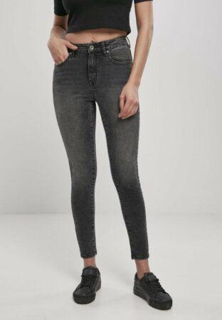 Afbeelding van Urban Classics Skinny jeans -30/32 inch- High Waist Zwart