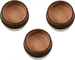 PHYT'S Phyts Touche de Lumiere Golden Pink Organische make-up oogschaduw multipack 3x6ml