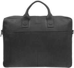 Zwarte DSTRCT Fletcher Street Business achtervak 17 inch Black – Laptoptas – Zwart