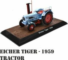 Lichtblauwe Editions Atlas Collections Eicher Tiger - 1959 Tractor