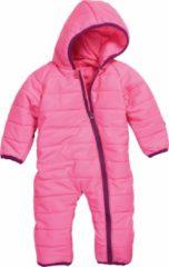Paarse Playshoes Winter Playshoes Gewatteerde Onesie Baby - Roze/Paars - Maat 62