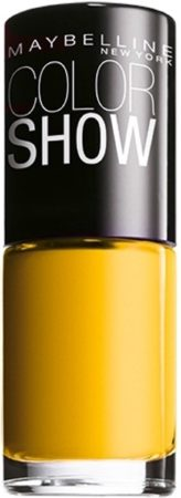 Afbeelding van Gele Maybelline Colorshow Electric Yellow - 749 - nagellak