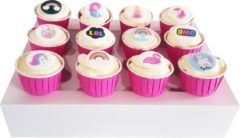 Roze Trenddeco CupCake Box – Magical