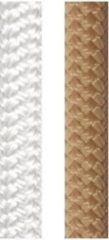 Beige LANEX Blizzard Plus dubbel gevlochten touw 10 mm 10 meter