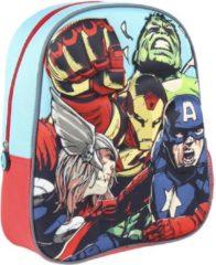 Marvel The Avengers school rugtas/rugzak voor peuters/kleuters/kinderen - Tassen/rugtassen/rugzakken voor jongens/meisjes - Schooltassen - Gymrugtas