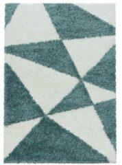 TANGO SHAGGY Himalaya Maxima Soft Shaggy Hoogpolig Vloerkleed Blauw / Wit- 80x250 CM