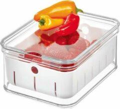 Transparante Koelkast organizers voor fruit iDesign - Crisp | deksel en stapelbaar