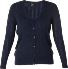 Donkerblauwe ES&SY Robin Vest - Dark Blue - maat 40