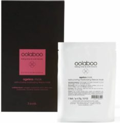 Oolaboo - Ageless - Mask - Restructuring Moisturizing Fleece Mask - 3 Pads