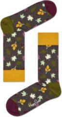 Happy Socks Fall Sokken - Bruin/Geel - Maat 41-46