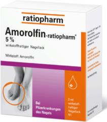 Amorolfin Ratiopharm 5% Wirkstoffhalt.Nagellack