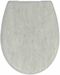 Douche Concurrent Toiletbril Cedo Brooklyn Print Duroplast Softclose en Quickrelease Toiletzitting