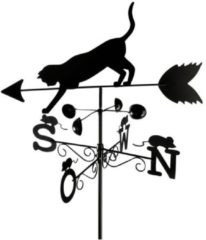 WENKO Wetterfahne Katze, Wetterhahn