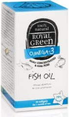 Royal Green Royal groen Omega 3 Visolie 30 softgels