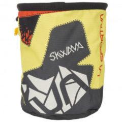 La Sportiva - Skwama Chalk Bag - Pofzakje maat One Size, zwart/geel