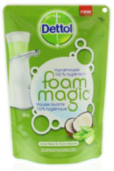 Dettol Magic Foam navulling Aloe vera - 6 x 200ml