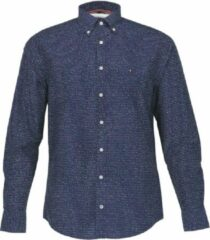 Tommy Hilfiger Overhemd Donkerblauw