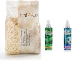 Italwax Starterskit Basic waxing Naturel