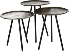 Gouden Pols Potten Table Skippy - Bijzettafel - Set van 3