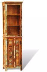 Bruine VidaXL Vintage boekenkast