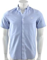 Blauwe Fred Perry - Classic Oxford Shirt - Heren - maat S