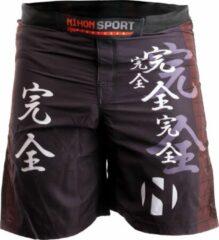 Nihon Fightshort Kanzen Heren Zwart Maat Xl