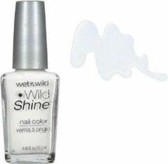 Witte Wet N Wild Wet 'n Wild Wild Shine Nail Color - C449C French White Creme