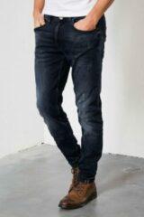 Marineblauwe Petrol Industries Seaham Vintage Slim fit Jeans - Blue - Mannen - Maat L34W36