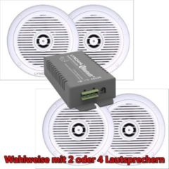 LYNDAHL Lautsprecher-Set, CS200BT-AMP und CS180IP, mit 2 oder 4 Lautsprechern Größe: mit 4 Lautsprechern