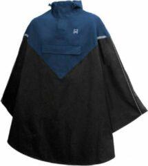 Willex Poncho Marineblauw/Zwart - S/M