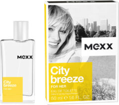 Mexx City Breeze Woman Parfum - 50 ml - Eau de Toilette