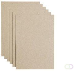 Papicolor Original Papier Formaat A4 Recycled Kraft Grijs 100 grams 12 vel