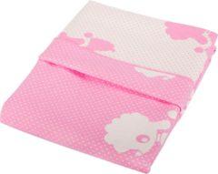 Roze Baninni Ledikantdeken Cino Pink 110x140