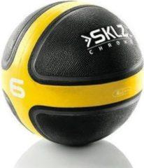 SKLZ Medicine bal- 2.7 kg - Zwart/Geel