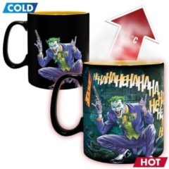 Merkloos / Sans marque DC COMICS - Mug Heat Change - 460 ml - Batman & Joker - with box