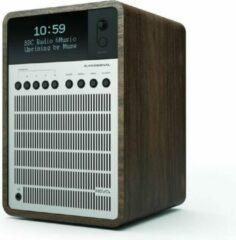 Revo SuperSignal - Radio - DAB en DAB+ - Zilver/Walnoot
