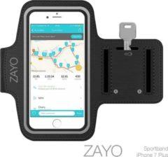 Zwarte ZAYO Sportarmband iPhone 7 Plus / 7 + Hardloop armband