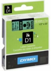 DYMO 45019 Labeltape Tapekleur: Groen Tekstkleur: Zwart 12 mm 7 m