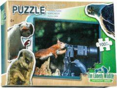 The comedy wildlife Comedy Wildlife Eekhoorn maakt Foto puzzel 100 stukjes