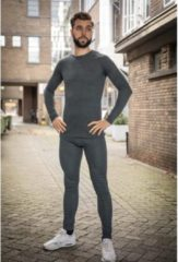 Antraciet-grijze Heat Keeper Thermoshirt voor Heren | Grijs | Maat M