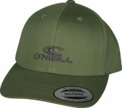 O'Neill Flatcap Wave Cap - Olive Leaves - One Size