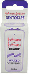 Johnson and Johnson Flosdraad Dental Reach Tape Waxed