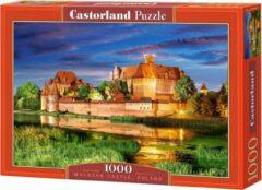 Selecta Malbork Castle, Poland Puzzel 1000 Stukjes